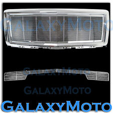 14-15 Chevy Silverado 1500 Chrome Billet Grille+Bumper NO Tow+Replacement+Shell