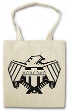 Justice Dept Hipster BAG-BORSA TESSUTO STOFFA sacchetto-Mega City Judge Dredd One