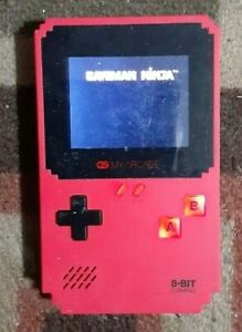 Red Handheld Game Console!!! Built-In 400 Games Game Pad Handheld Console