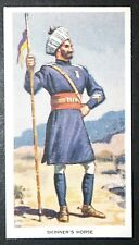 Skinner's Horse  Indian Cavalry   Original Vintage Picture Card # VGC