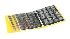 Lindner S3540M-9 PUBLICA M COLOR Coin album incl. 10 coin pages, Solino (yellow)