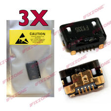 3 X New Micro USB Charging Sync Port Charger HTC One Max 8160 803s 8088 8060 USA