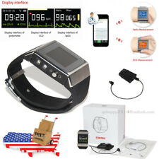 CONTEC CMS50K SpO2/ECG PR heart rate wrist Monitor bluetooth watch+adult probe