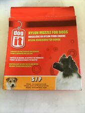 "Dog It Nylon Muzzle for Dogs Small (4.7"" Long)"