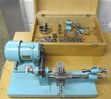 STAR SWISS WATCHMAKING LATHE AND ACCESSORIES COLLETS TOOL REST MOTOR + MORE 018