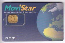 TELECARTE GSM SIM COLLECTOR .. ESPAGNE GEMPLUS MOVISTAR ESPACE 609 CHIP/PUCE
