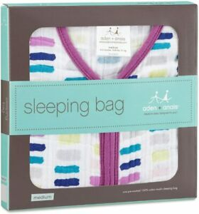 aden + anais- Wink Classic Sleeping Bag, Multi, Small 0-6 months- clearance- sal
