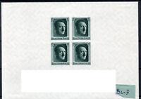 03-DR-Deutsches Reich, Michel Block 8, Postfrisch, sehr schön