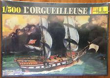 Heller L'ORGUEILLEUSE 1/500 sailing ship plastic kit factory sealed