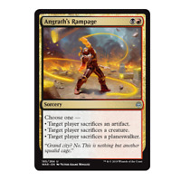 War of the Spark UnCommon Playset NM 4x Angrath's Rampage MTG