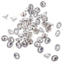 50 Crystal Diamond Effect Chair Sofa Headboard Upholstery Sewing Button 20mm