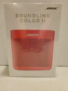**SEALED** Bose SoundLink Color Bluetooth Speaker II - Coral Red **NEW**
