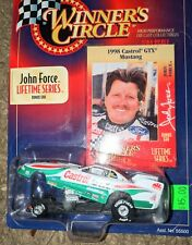 John Force 1998 Mustang Funny Car Winners Circle Lifetime Series Card JFR NHRA