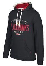 "Chicago Blackhawks CCM NHL ""Five Hole"" Men's Pullover Hooded Sweatshirt"