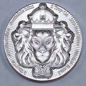 Scottsdale Mint 2oz Scottsdale Stacker - 0.999 Silver - High Relief