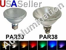 LED Par 30 BR30 PAR 38 BR38 Grow Flood Light Bulb 12v 120v 240v 12 120 240 Volt