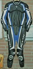 Rev'it Sport- Lederkombi 2 tlg Gr. 52 blau/schwarz  pas.GSX-R,R1 o.ä.