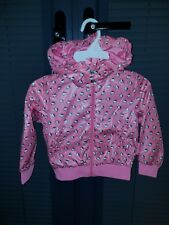 H&M Hello Kitty Girls Pink Great Jacket coat Waterproof 18Month 2 Age ONLY £3.50