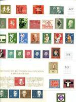 Bund 1958 - 2000 ** Sammlung im Lindner Ringbinder
