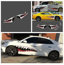 Waterproof Shark Mouth Tooth Teeth Graphics Vinyl Car Door Window Sticker Decal