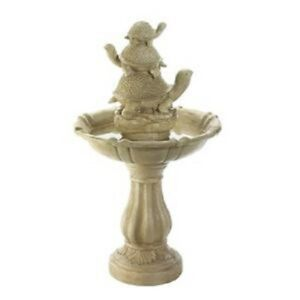 Turtle Trio Garden Fountain Yard Garden Outdoor Living