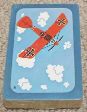 Red Baron German WW1 Plane - Sealed Pack of Playing Cards