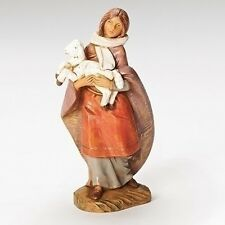 5 Inch Fontanini Emma the Shepherdess with Lamb 54079