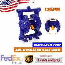 12gpm Air Operated Double Diaphragm Pump 12 Inlet Amp Outlet Petroleum Fluids Us