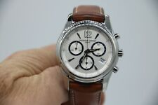 FREDERIQUE CONSTANT Chronograph FC292X4B24/5/6 Quartz Watch. Fresh Service