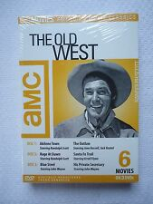 THE OLD WEST AMC AMERICAN MOVIE CLASSICS 6 MOVIES 3 DVD DISCS BRAND NEW SEALED