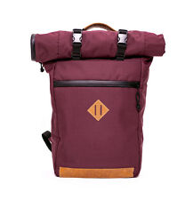 Abscent The Scout Roll Top Backpack Crimson Odor Absorbing Smell Proof Backpack