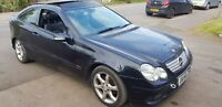 Mercedes C220 Cdi Sport Edition Coupe Pan Roof, Leathers SPARES or REPAIRS LEEDS