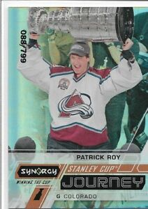 2020 21 PATRICK ROY UD SYNERGY STANLEY CUP JOURNEY 088/799