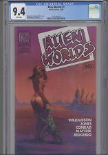 Alien Worlds #1 CGC 9.4 1984 Pacific  Sci-fi Comic: Al Williamson  NEW CGC FRAME