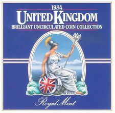 More details for 1984 coin set united kingdom royal mint brilliant uncirculated free uk p&p