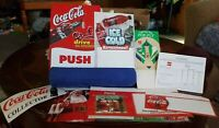 Mixed Lot Of Vintage Coca Cola Advertising