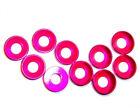 203000064 5mm M5 Pink Alloy Aluminium Nylon Washer x 10
