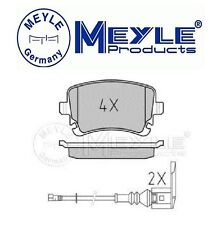 Meyle-Posteriore Pastiglie per VW T5 Transporter Van & Multivan 2004-2014