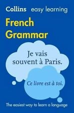 Collins Easy Learning French Grammar [Third Edition] by Collins Dictionaries NEW