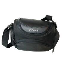 SONY Digital Camera Camcorder Black Bag Case with Shoulder Strap
