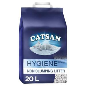 20L Catsan Hygiene Non Clumping Cat Litter 20 Litres (4 x 5 Litre) Kitten Litter