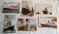 Kino # Merchandising # Film Postkarte # Titanic # James Cameron # 1997 # 6 Stück