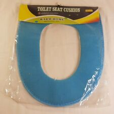Blue Toilet Seat Cushion Household Ware Series Warm Comfort Sealed Free Shipping