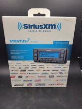 Sirius XM SSV7V1 Stratus 7 Satellite Radio w Vehicle Kit Black