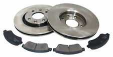 For Citroen Berlingo Peugeot 1007 2008 206 Front Brake Discs + Pads Set
