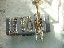 Vintage Frank Holton-Colligate cornet+Case SN#421797 (1963)