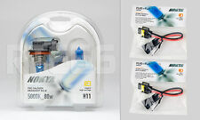 Nokya Cosmic White H11 Headlight Bulbs- 5000K 80W * With Nokya HD Wire Harnesses