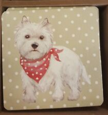 Dog lovers gift Westie / West Highland Terrier Coaster