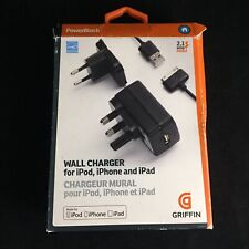 Griffin PowerBlock Wall Charger iPod iPhone iPad