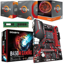 AMD 3rd-Gen Ryzen CPU (3100, 3300x, 3600, 3600x, 3700x, 3900x) Gaming MB 8GB RAM